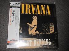 NIRVANA live at reading JAPAN MINI LP SHM CD + DVD region-all FOO FIGHTERS SEAL