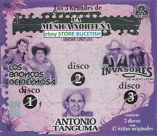 La Musica Nortena Los Broncos de Reynosa,Antonio Tanguma,Los Invasores de Nuevo