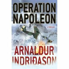 Indridason, Arnaldur OPERATION NAPOLEON (2013) NEW pb