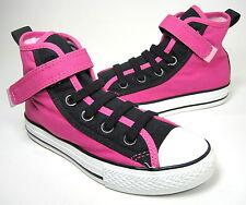 Converse Chuck Taylor All Star Slip Hi Top Sneaker Blk/Pnk Canvas Kids US Sz 13M