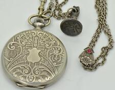 One of a kind silver Zenith full hunter watch. Award by Ataturk .Ottoman/Turkish