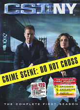 CSI: New York - The Complete First Season (DVD, 2005, 7-Disc Set) WS #0224AX