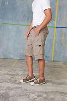 Men's Kariban Trekker Cargo Shorts Black, Navy, Grey, Light Olive KB777