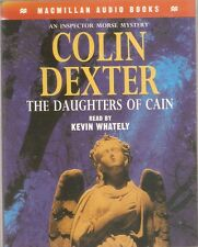 Colin Dexter - The Daughters of Cain (2 Cass A/Book 1995) Morse FREE UK P&P *NEW