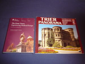Teaching Co Great Courses CD   GREAT TOURS EXPERIENCING MEDIEVAL EUROPE + bonus
