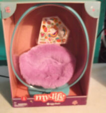 "My Life As Egg Chair with Cushion and Stickers for 18"" Doll NIP"