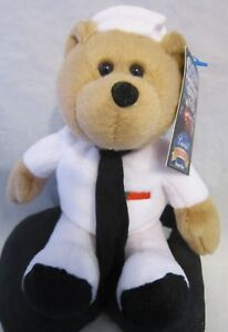 Limited Treasures Hometown Heroes Courageous US Navy Bear Plush Collectable