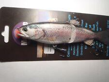 Morone Swimbait Trout Hatchery 7' Glide Bait Herring swimbait striper bass