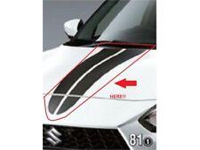 [NEW] JDM Suzuki SWIFT Sports ZC33S Hood Decal Black Carbon Genuine OEM