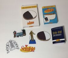 Seinfeld 30th Anniversary Limited Edition 5 Vinyl Stickers & Dictionary New 2019