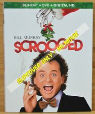 SCROOGED HD Blu-ray Slipcover (COVER ONLY-NO MOVIE DISC)