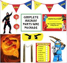 LEGO Ninjago partito pacchetto / SET / KIT-giochi di partito, Decorazioni, Palloncini, forniture