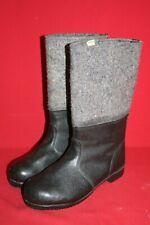 Original NVA Thermostiefel Filzstiefel Winter Leder Stiefel Gr. 42 DDR 28 Nr. 15