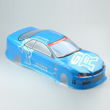 190mm Body Shell PVC 020B For 1/10 RC On Road Drift Car With Rear Ring