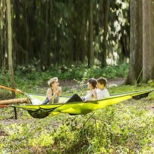 Multi Person Hammock Triangle Air Mat Hammock Tree House Air Sky Tent NEU