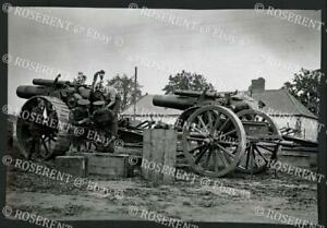 1916 R.G.A. overhauling 8 inch howitzers at La Houssoye - I.W.M photo 17 by 11cm