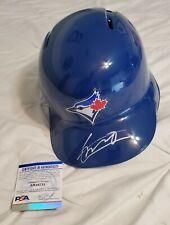 Toronto Blue Jays VLADIMIR GUERRERO JR signed FS batting helmet w/PSA/DNA COA