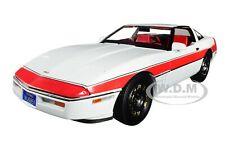 """1984 CHEVROLET CORVETTE C4 CONVERTIBLE """"THE A-TEAM"""" 1/18 CAR BY GREENLIGHT 13532"""