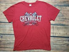 Chevrolet American Classic Car Red T-shirt Size L
