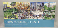 "Puzzle Central Park ""Four Seasons"" - 1000 Pieces - Panoramic - Michael Storrings"