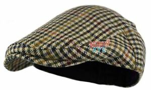 NEW Classic Herringbone Men Wool Gatsby Cap Ivy Hat Newsboy Golf Sun Flat Cabbie