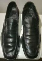 FABI uomo scarpe mocassini classiche business pelle shoes colore nero n°41