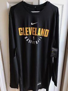 Nike NBA Cleveland Cavaliers RARE Team Issued Practice Long Sleeve Shirt sz 2XLT