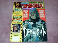 FANGORIA # 119, Dracula, Army of Darkness, Dawn of the Dead FREE SHIPPING in USA
