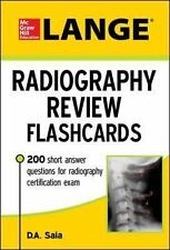 LANGE RADIOGRAPHY REVIEW FLASHCARDS - SAIA, D. A. - NEW BOOK
