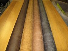 Distressed Look Faux Leather Fabric - Upholstery Use - (5 Colours) - Ritz Range