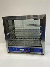 More details for quantum ce ® hot food pie pastie warmer display cabinet counter 540mm wide pc540