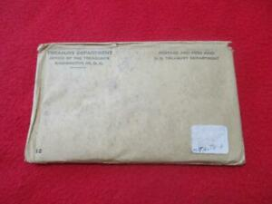 1961 P&D Uncirculated Silver Mint Set  In Envelope of issue.            #MF-T989