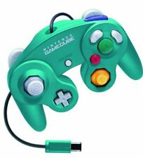 Used Nintendo GameCube Official Controller Emerald Blue GC JAPAN OFFICIAL IMPORT