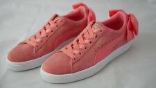 Puma Suede Basket Bow - Sneaker mit Schleife - 38,5 38½ Shell Pink / Dunkelrosa