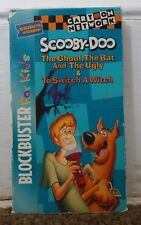 Scooby-Doo The Ghoul, The Bat & The Ugly Rare & OOP Turner Home Video VHS