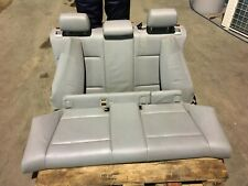 Sedili in pelle BMW Serie 1 3 porte grigio chiaro