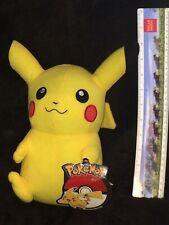 New  Pokemon Yellow Pikachu 10'' Tall Plush Gotta Catch 'Em All!