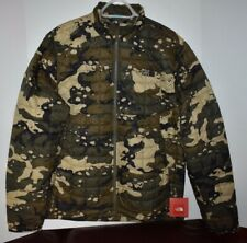 NORTH FACE MENS THERMOBALL FULL ZIP JACKET, CAMOUFLAGE PRINT, NWT Large