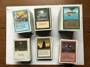 MTG: Revised Edition Collection -  733 total cards   Most are Light Play