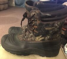 Field And Stream Buck Hunter II Men's Outdoor Boots Sz 9 Camouflage Thinsulate