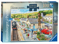 13614 Ravensburger The Country Station Jigsaw Puzzle 100 Pieces Age 10+ Years