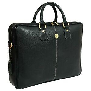 Hammonds Flycatcher Genuine Leather Bag 13 inch Laptop Messenger Office Travel..
