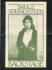 Bruce Springsteen 1978 Darkness On The Edge - satin backstage pass - Green