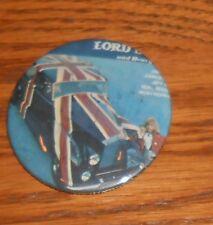 """Lord Sutch Button Pin 80s Original 2 1/4"""""""