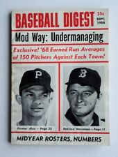 RARE September 1968 Baseball Digest Pirates Alou Harrelson -