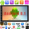 2Din 7''in Android8.1 Quad Core Car Stereo MP3 MP5 Player GPS Navi WiFi FM Radio