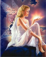 DIY 5D Diamond Painting, Nearzstorn DIY 5D Diamond Painting Cute Angel Full