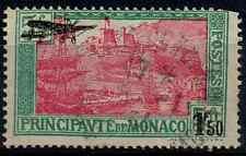 TIMBRE MONACO POSTE AÉRIENNE ANNÉE 1933  n°1 !! Oblitéré COTE 32€