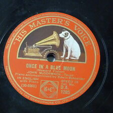 78rpm JOHN McCORMACK once in a blue moon / bless this house