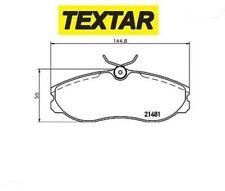 2148101 Kit pastiglie freno, Freno a disco (TEXTAR)